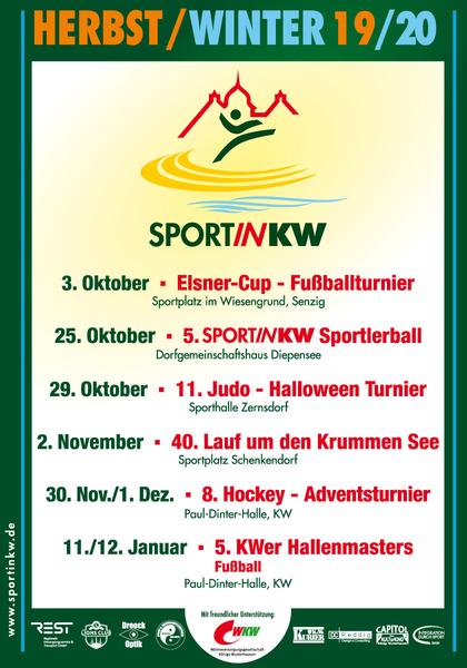 Plakat Herbst/Winter 2019/2020