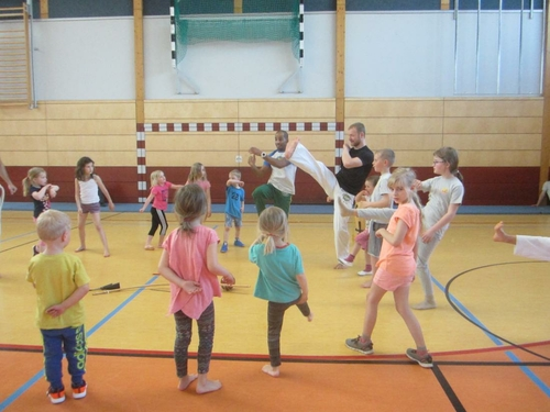 Capoeira für Erwachsene