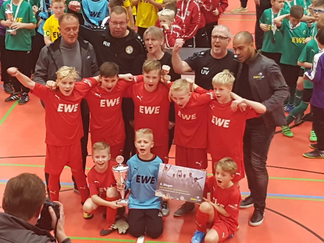 Zweiter Platz beim EWE Wintercup in Strausberg