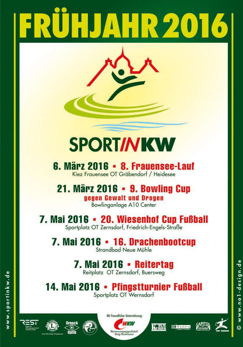 Frühjahrsplakat 2016