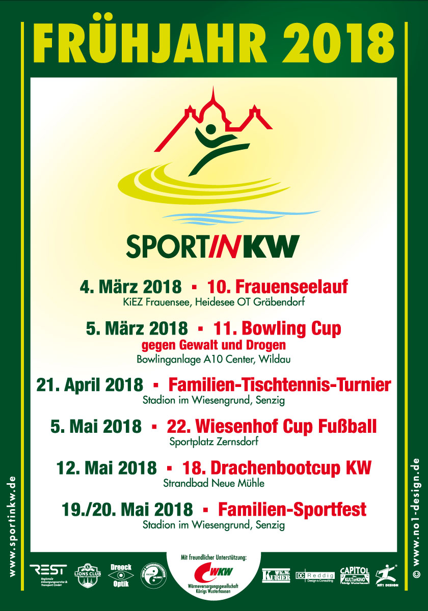 Frühjahrplakat 2018