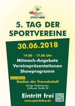 5. Tag der Sportvereine