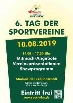6. Tag der Sportvereine