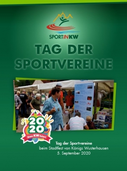 Tag der Sportvereine beim Statdfest KW